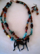 horse necklace Holly